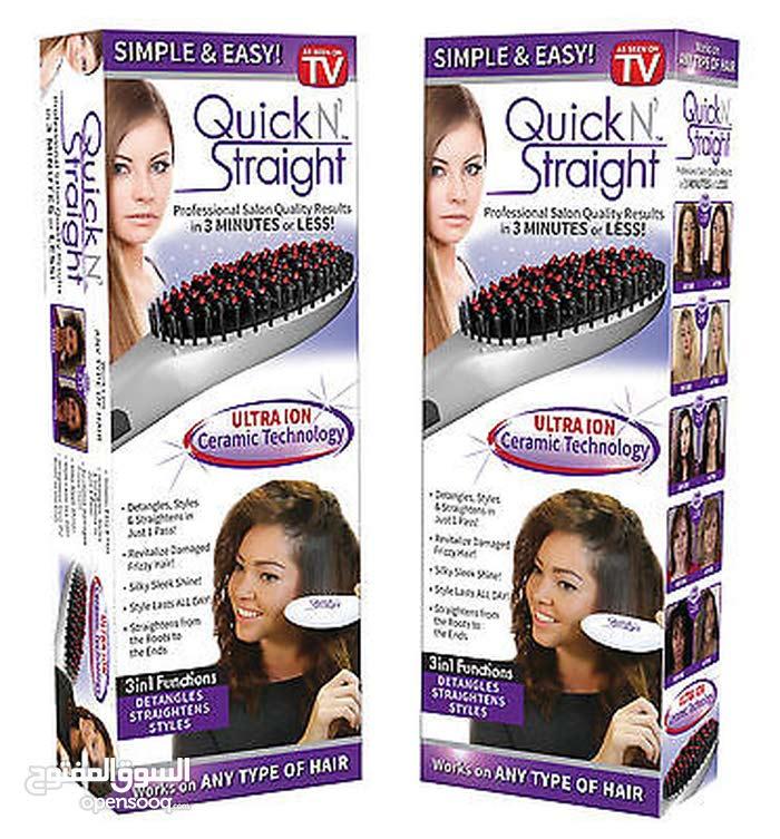 فرشاة الشعر الحرارية Quick Straight