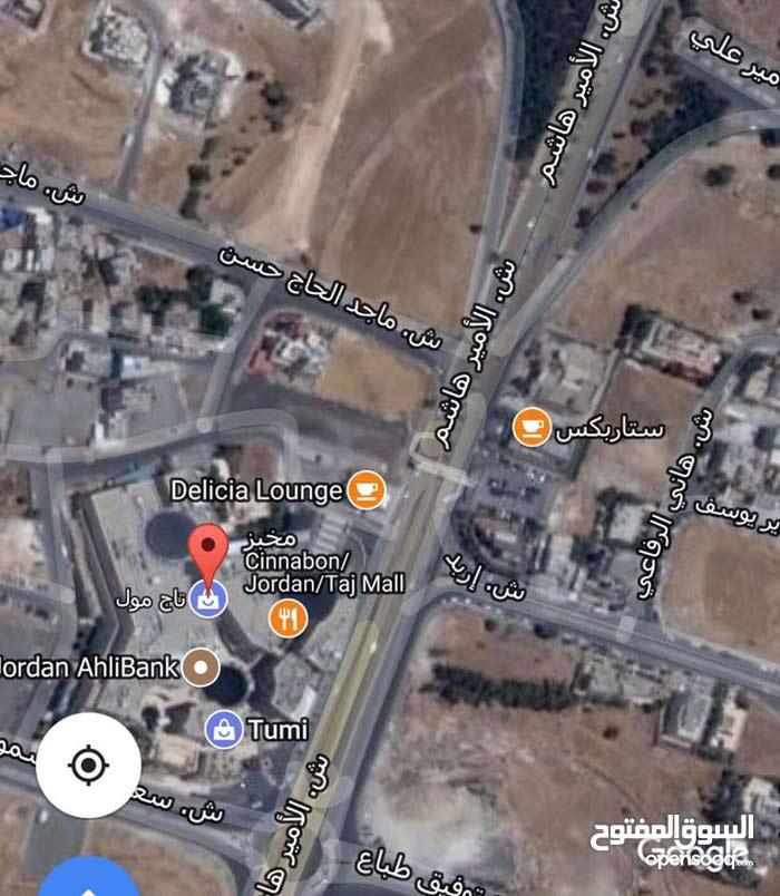 ارض للبيع عبدون على شارعين اجمل مناطق عبدون حوض  تصلح 29 لانشاء فيلا مساحة 956 متر