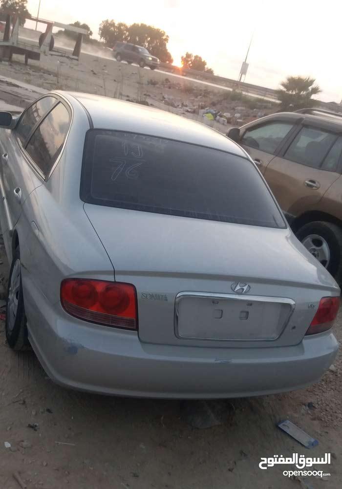 Silver Hyundai Sonata >> Silver Hyundai Sonata 2002 For Sale