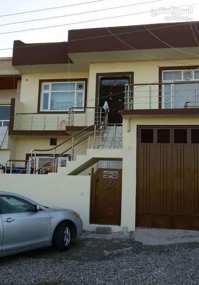 بيت في رابرين سليمانية مساحه البيت 200متر