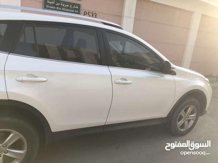 Toyota RAV 4 2015 For sale - White color