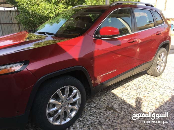 Red Jeep Cherokee 2014 for sale