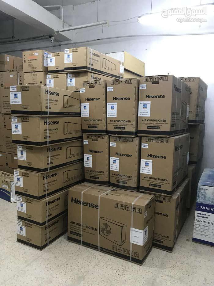 مكيف Hisenseمن مؤسسة المدينة للتكييف والتبريد باقل الاسعار
