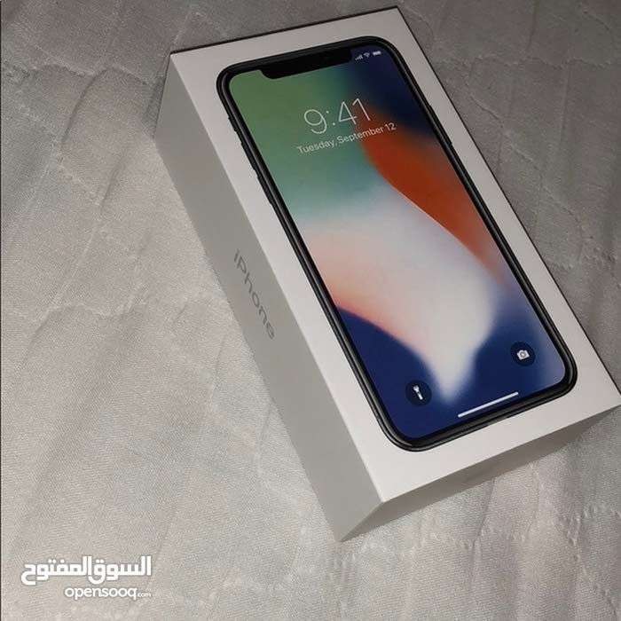 iphone x 256 جديد للبيع للجادين