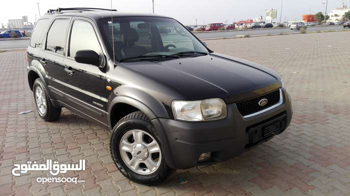Automatic Black Ford 2003 for sale