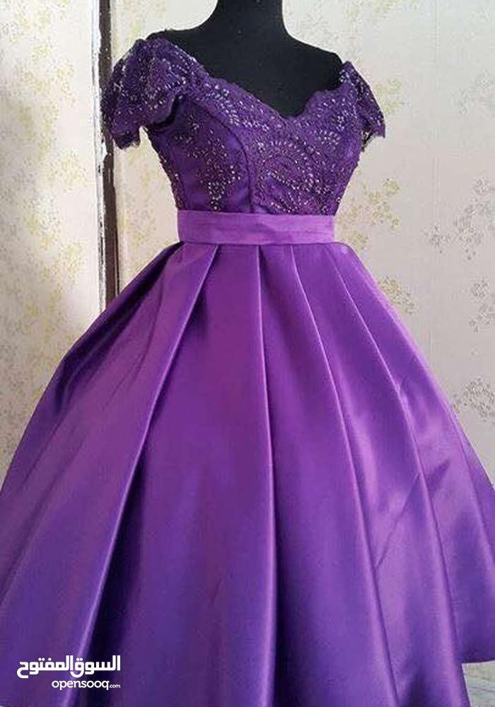 فستان مستعمل نضيف جدااا موديل جديد