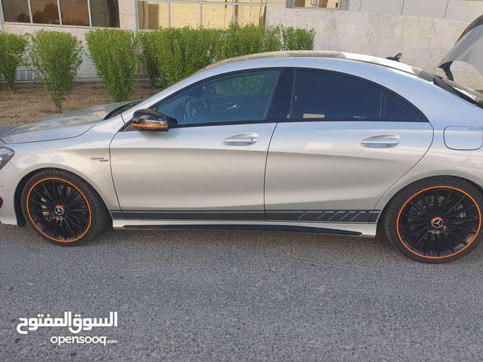 Mercedes Cla 45 Orange Edition Art 2016 112131637 Opensooq