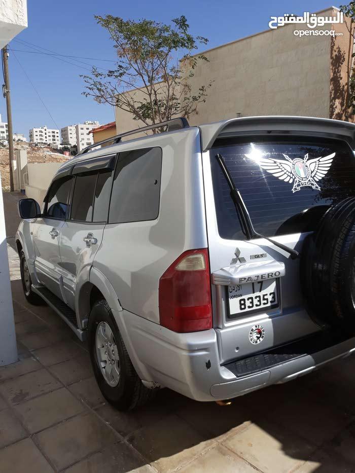 Mitsubishi Pajero for rent in Amman