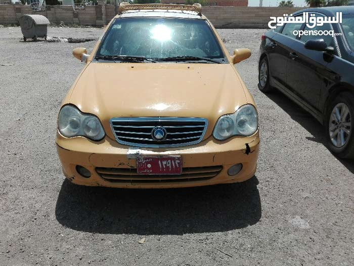 Yellow Geely CK 2010 for sale