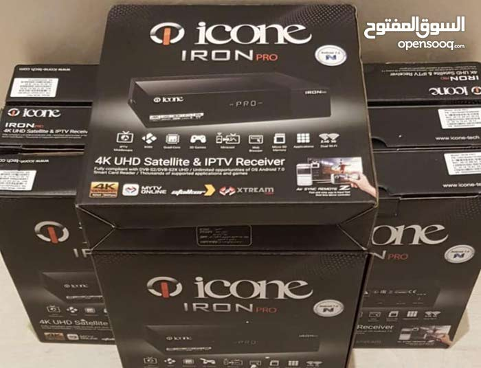 ‏ICONE IRON PRO ANDROID 4K