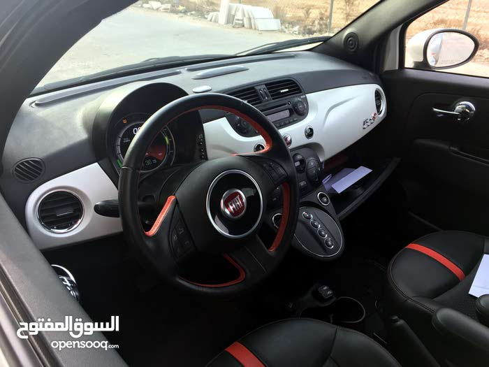فيات Fiat 500e بانوراما 2015 جمرك حديث جدا