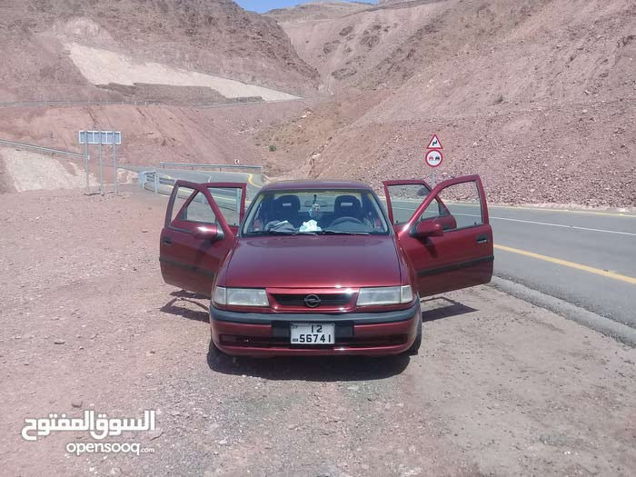 Opel Vectra 1995 For sale - Maroon color
