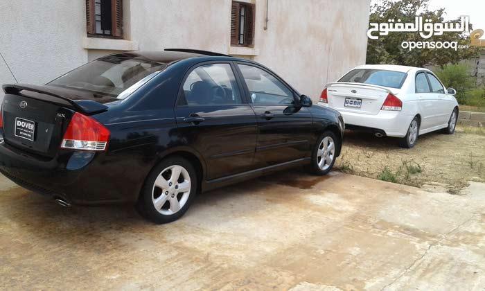 Black Kia Spectra 2009 for sale
