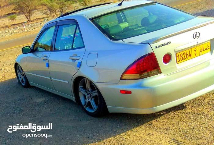 Beige Lexus IS 2001 for sale