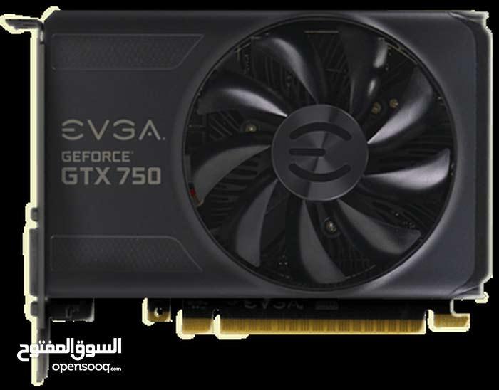 تم تخفيض السعر EVGA GTX 750 1GB