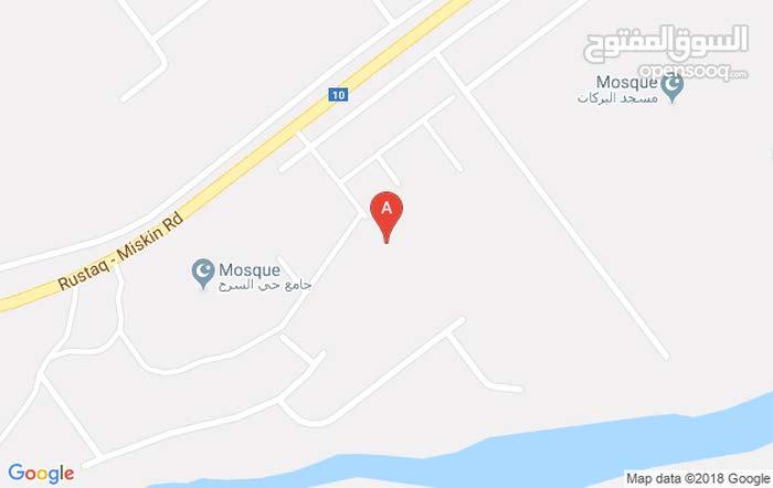 أرض سكنية في ولاية الرستاق / حي السرح 6
