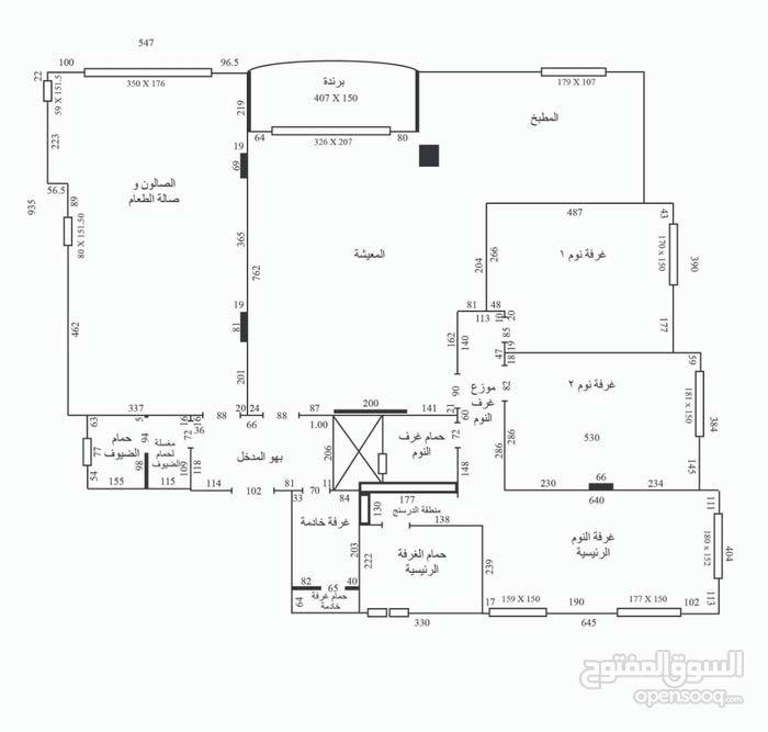 شقة طابقية فخمة لم تسكن للإيجار في عبدون