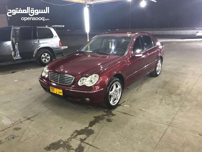 Red Mercedes Benz C 240 2001 for sale