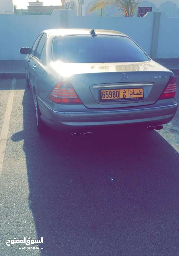 Mercedes Benz S55 AMG 2003 For sale - Gold color