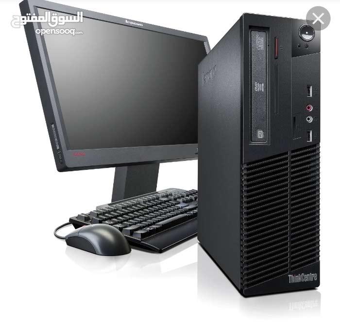 أجهزة كمبيوترات امريكيه كامله فقط ب 210 دينار