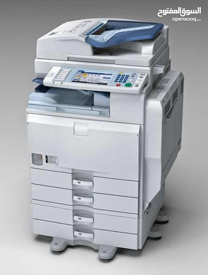 ماكينات تصوير مستندات وطباعه استيراد بالضمان