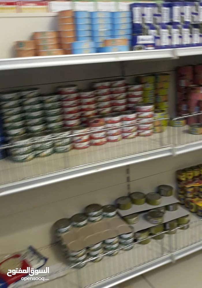 محل مواد غذايه كامل للبيع