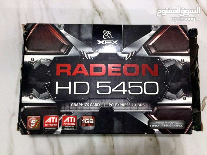 كرت شاشة 1 جيجا XFX Radeon Hd 5450