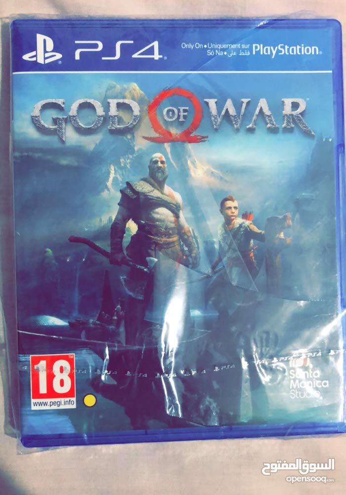 لعبة GOW بشكارتها للبيع أو للتبديل بلعبة حديثة