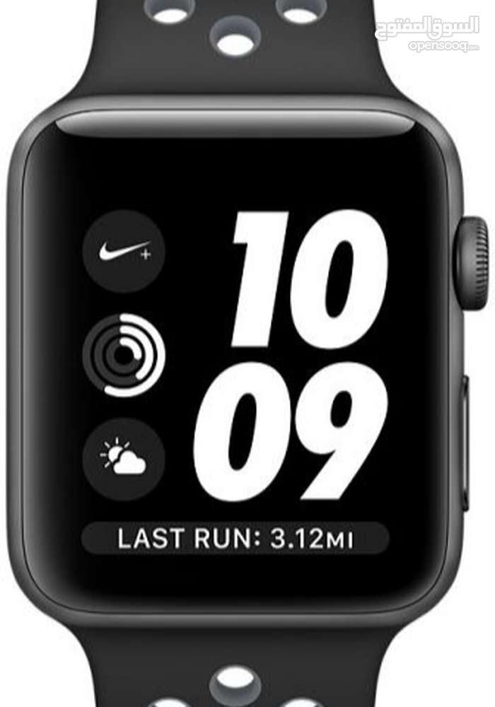 95fb6e6cb ساعة أبل Apple Watch Series 3 - Nike - كاملة - (106610588) | Opensooq