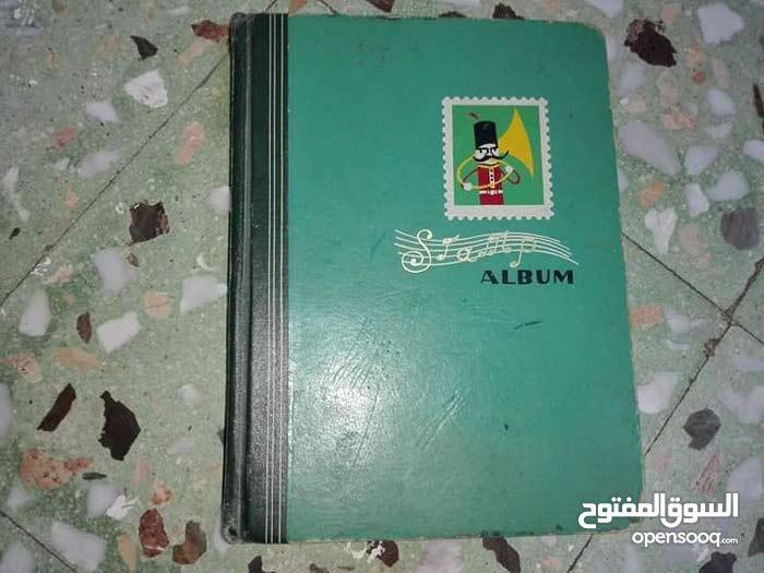 دفتر طوابع قديم