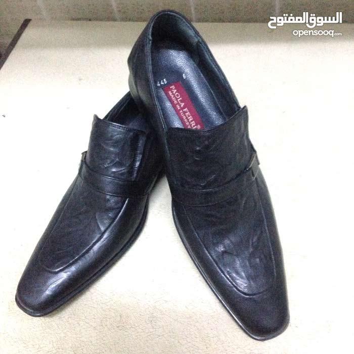 حذاء جلد اصلي من تركيا