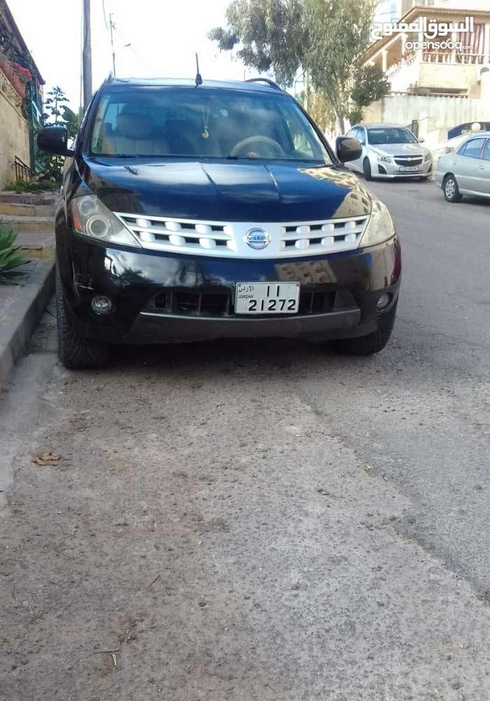 Nissan Murano 2005 For sale - Black color