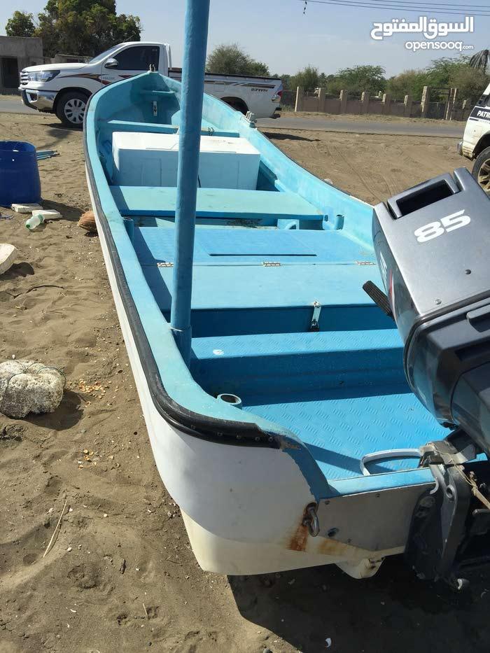 قارب 23 مع محرك 85 - آخر نظافة
