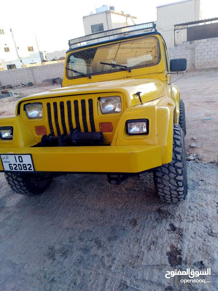 Used Jeep Wrangler for sale in Mafraq