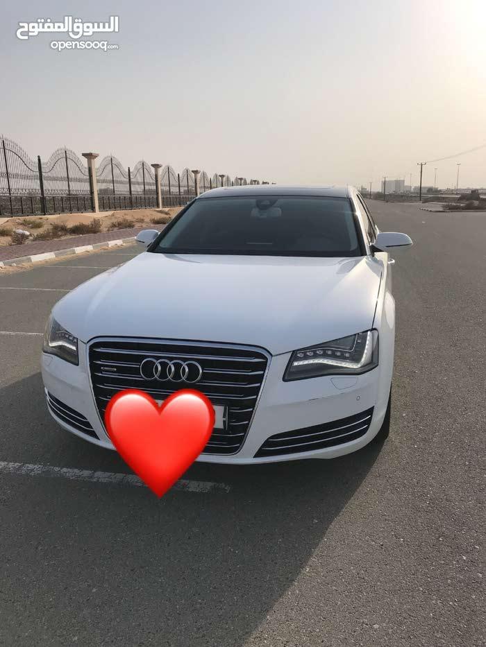 For sale Audi A8 car in Um Al Quwain