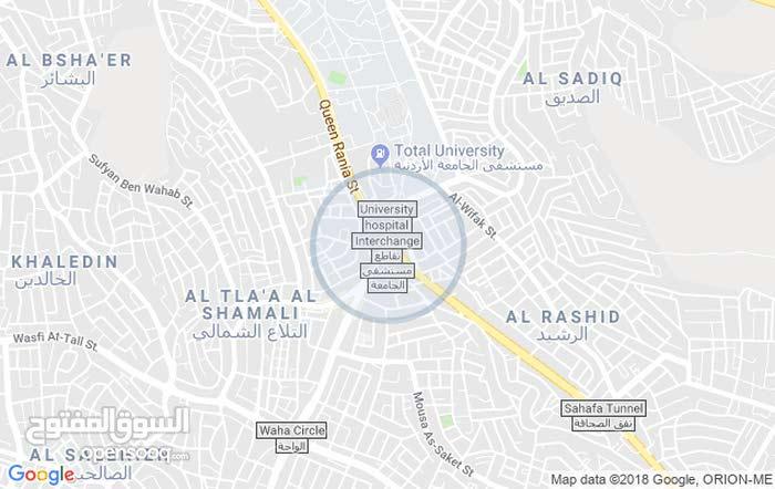 University Street neighborhood Amman city -  sqm apartment for rent