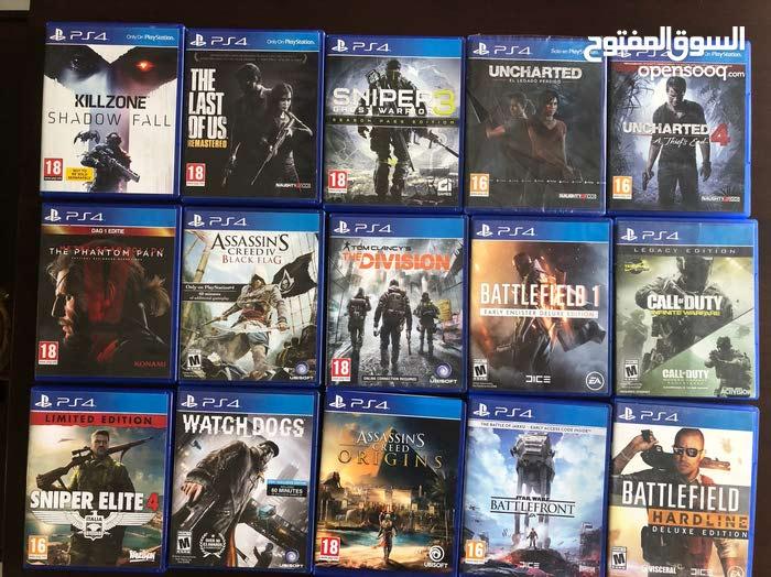 مجموعة العاب Playstation 4