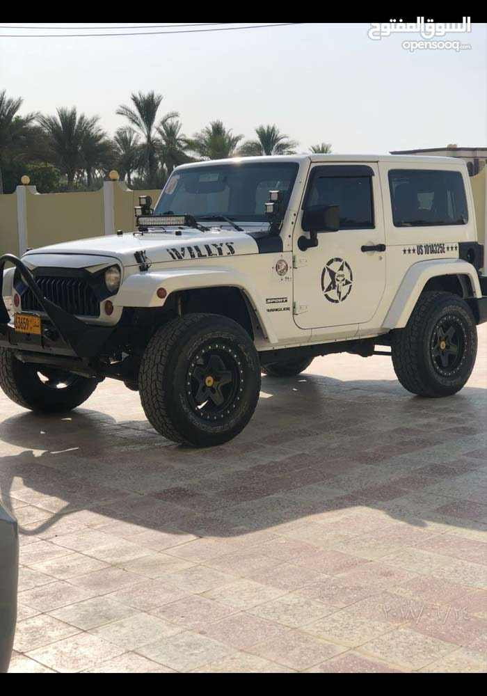 For sale 2012 White Wrangler