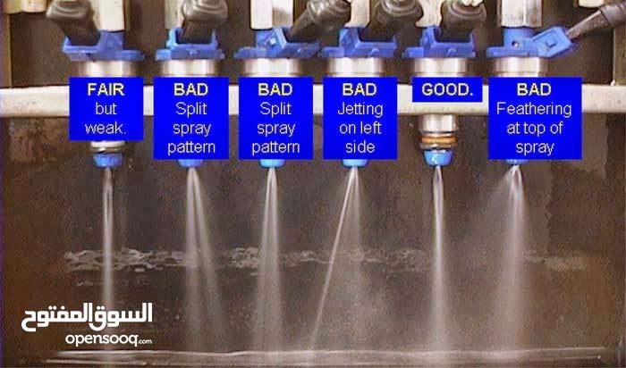 تنظيف رشاشات البنزين بتقنية Ultrasonic
