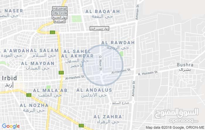 ارض تجاري للايجار شمال دوار الدره واجهه غربيه الواجهه على الشارع 25 متر بعمق 30متر