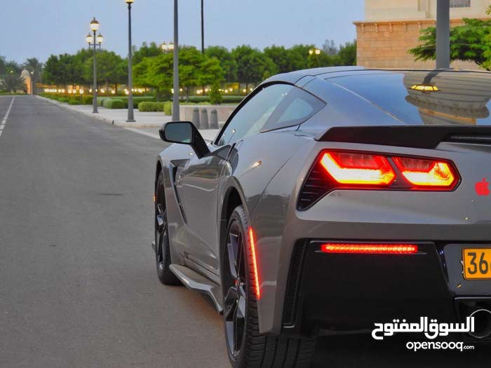 For sale 2016 Turquoise Corvette - (111813555)   Opensooq