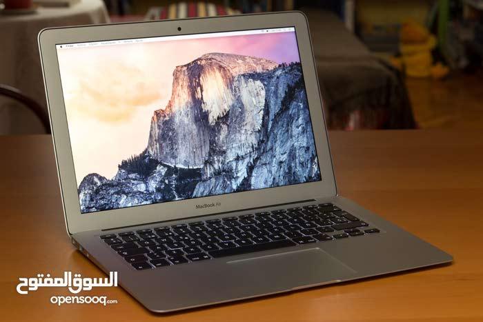 فرصة لا تتكرر للبيع Macbook Air core i5 مستعمل كالجديد