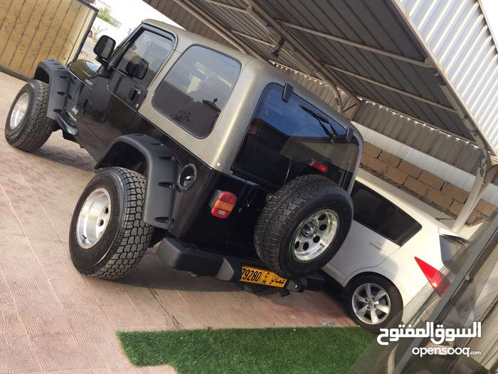 Used condition Jeep Wrangler 2006 with  km mileage