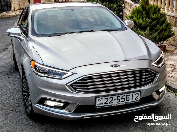 Ford Fusion 2017 for sale in Amman