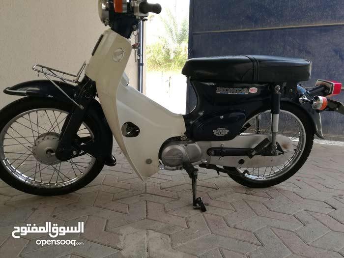 دراج 90cc لون ازق مع ارقامه للبيع