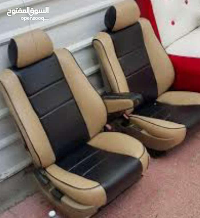 أستبرق لتنجيدات مستعدون بقيام جميع تنجيدات الكراسي السيارات والباصات