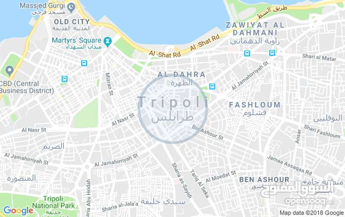 Apartment property for rent Tripoli - Bab Bin Ghashier directly from the owner