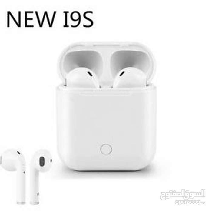 I9S TWS Wireless Portable 5.0 Bluetooth Earphone - White