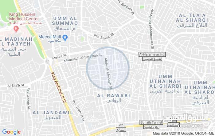 Khalda neighborhood Amman city - 500 sqm apartment for rent