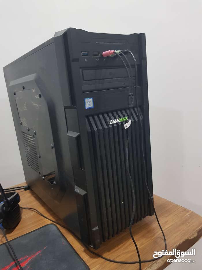 حاسبه كيمنك للبيع مواصفات كارت شاشه نفيديا 6g 1060 ...ورام 8 ddr3 تردد 1600